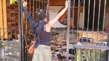 Looters burned her business, then a complete stranger stepped in to help