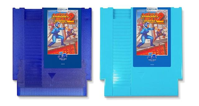 Two 'Mega Man' classics will be re-released on cartridge