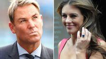 Shane Warne wants Liz Hurley's $60k engagement ring back