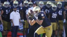Notre Dame LB Greer Martini to miss USC game with knee injury
