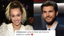 Miley Cyrus Is Showering Liam Hemsworth with Love on Instagram Again
