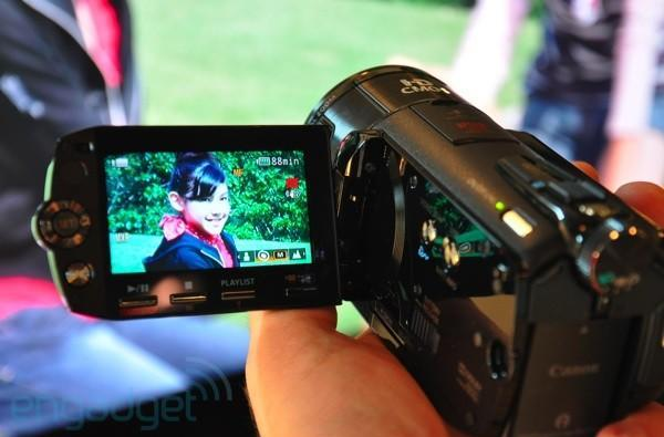 Canon VIXIA HF S11 hands-on