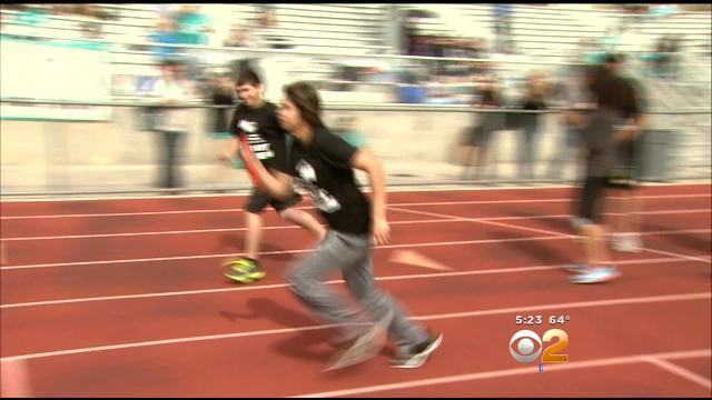 Special Needs Students Compete Athletically In Fifth Annual Hart Games