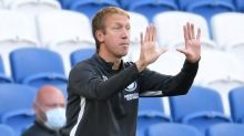 Graham Potter reminds his youngsters what a League Cup debut can lead to
