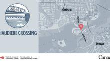 Alternating lane closures on Chaudiere Crossing