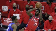 The Sixers' opening-round playoff series will start Sunday