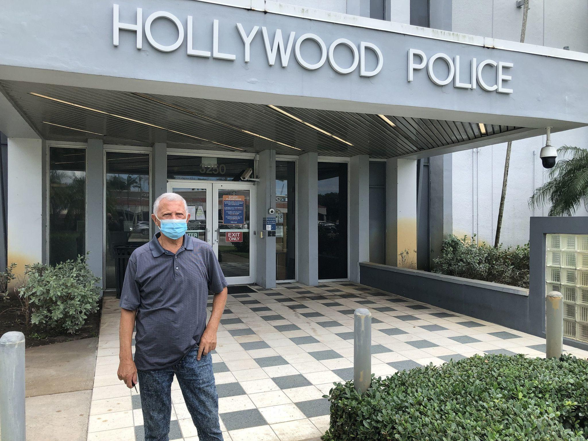 Man shot by Hollywood police had come to South Florida to escape his troubles