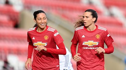 USWNT stars leave Manchester United