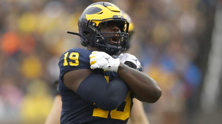 Colts get an 'A' for pick of Michigan DE Kwity Paye | PFF Draft Show