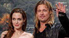 Angelina Jolie supera la ruptura vendiendo un cuadro que le regaló Brad Pitt