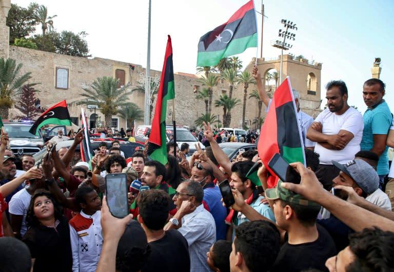 Libyan army seizes mine depot from Haftar militia in Tarhuna