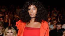 Con permiso de su hermana, Solange Knowles lo borda para Calvin Klein
