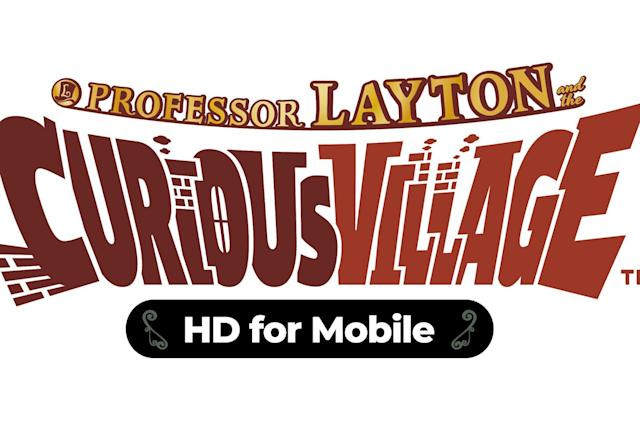 'Professor Layton and the Curious Village' comes to iOS and Android