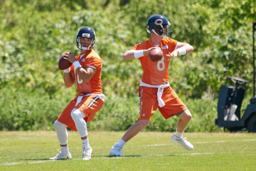 Trubisky is expected to be the future and Glennon the present. It's possible that neither will be any good.