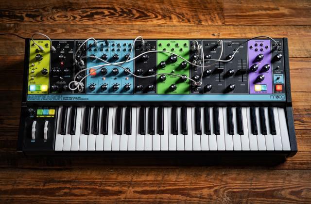 Moog introduces the Matriarch: A four-voice semi-modular analog synth