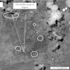 U.S. saw chemical weapons activity at Syrian base struck in April