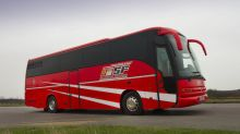 Michael Schumacher's Ferrari team bus heads to auction