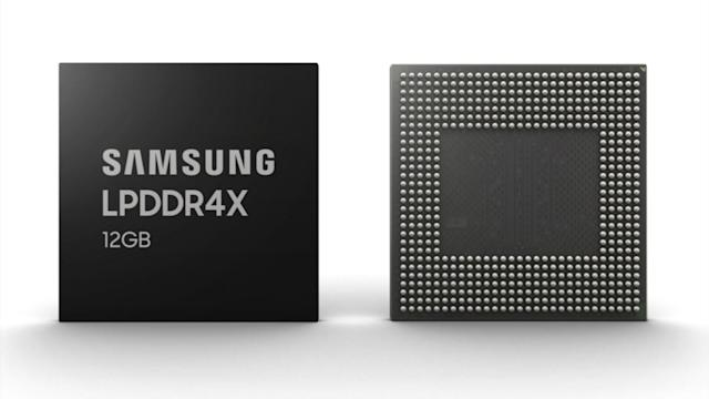Samsung unveils the highest-capacity smartphone DRAM yet