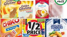 Best Woolworths, Coles 50%-off deals this week