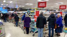 Britain's supermarkets wrestle with coronavirus demand conundrum