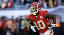 Tyreek Hill says Chiefs are 'chasing Jordan,' predicts seven Super Bowl rings