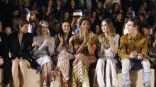 Ashley Graham Kills It On Catwalk In H&M Studio's Star-Studded Fashion Show