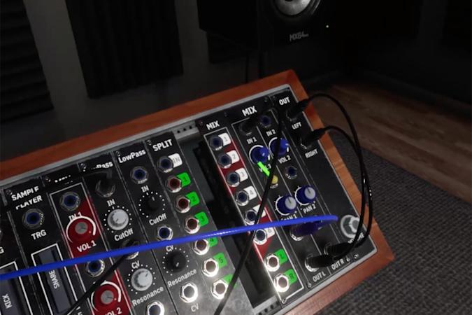 Synthspace VR modular synth