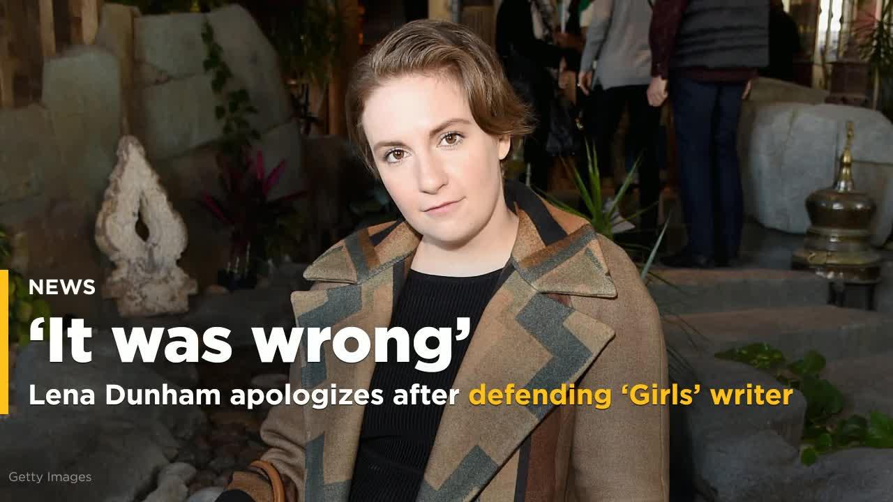 Lena Dunham Apologizes After Defending \u0027Girls\u0027 Writer Accused of ...