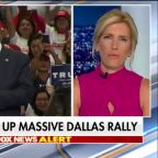 Trump takes aim at Democratic opposition during Texas rally