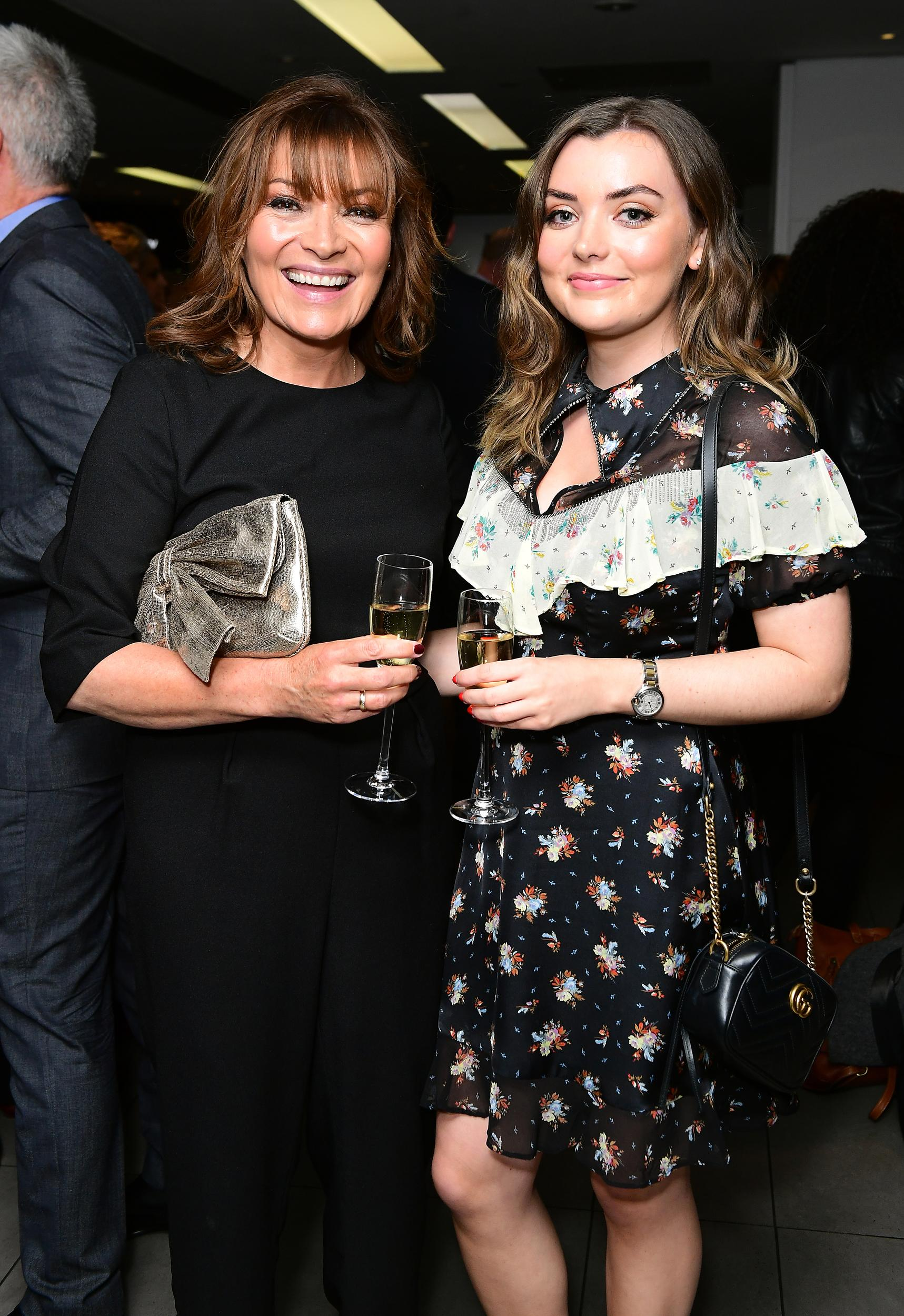 Lorraine Kelly (left) and Rosie Smith attending An Evening with Chickenshed at the ITV Studios at Southbank in London. Picture date: Tuesday April 17, 2018. Photo credit should read: Ian West/PA Wire