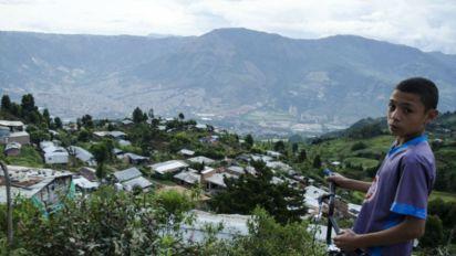 Os desabrigados pelo conflito armado na Colômbia