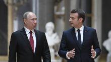 L'ingérence russe dans la présidentielle resurgit avant la rencontre Poutine-Macron