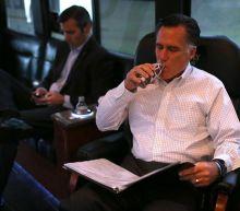 Mitt Romney rebels, drinks chocolate milk on Senate floor