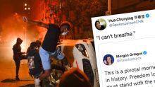 China se burla de la 'hipocresía' de EEUU por las protestas en solo tres palabras
