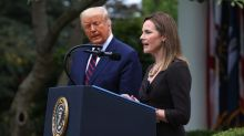 Amy Coney Barrett pays tribute to 'homophobe' mentor as Donald Trump announces Supreme Court nomination