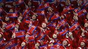 """""""Armee der Schönen"""" - Nordkoreanerin klatscht bei Olympia für USA"""