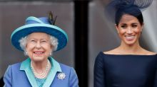 Meghan Takes Over from the Queen as Royal Patron at the National Theatre