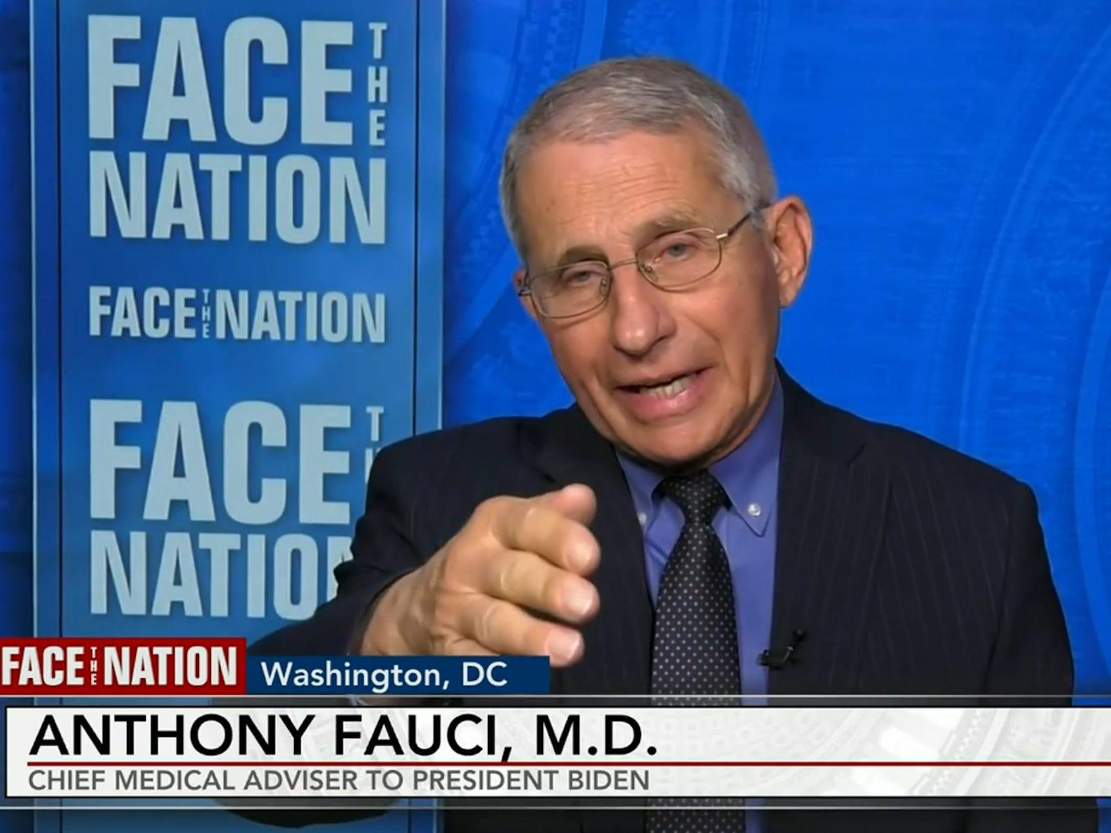 Fauci says the plateau of COVID-19 cases in the US is unacceptable and warns against an 'on and off' reopening strategy - Yahoo News