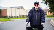 Aussie veteran, 101, walks 90km and raises almost $80,000