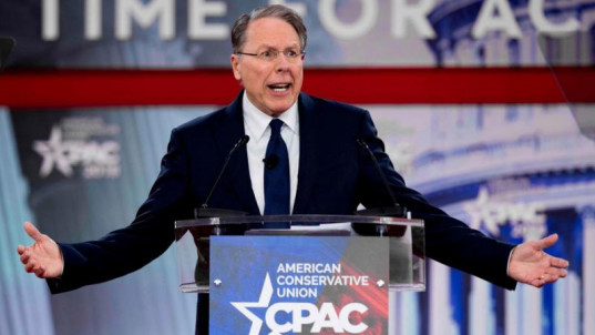 NRA chief lashes out at gun control advocates