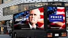 GOP Group Taunts Donald Trump By Driving 'President Pence' Billboard Truck Around D.C.