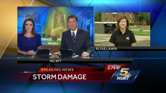 Team coverage of Thursday morning storms