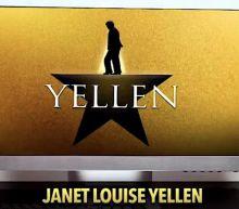 Biden joked about rewriting Hamilton for Janet Yellen. Colbert's Late Show made it happen.