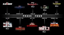 Every Marvel movie and TV show on Disney's release schedule for the next three years