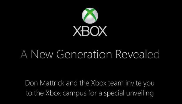 Microsoft's New Generation Xbox event is tomorrow, get your liveblog right here!