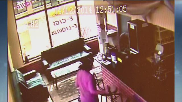 Woman caught on camera stealing donation jar in Ypsilanti Township