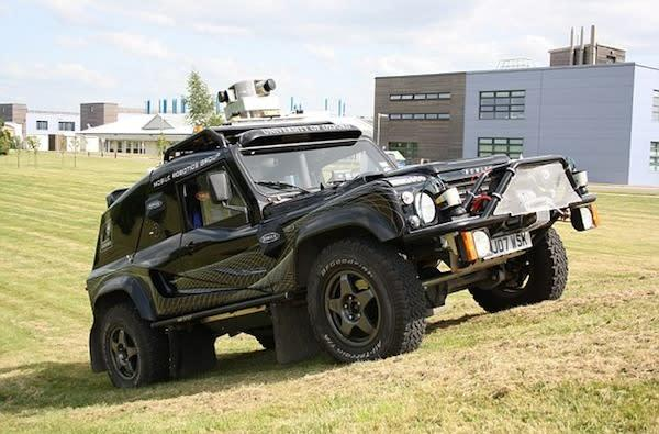 Oxford researchers show off autonomous Wildcat vehicle, no GPS required