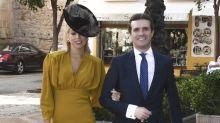 Las fotos de Pablo Casado y su esposa, Isabel Torres, en la boda del hijo de Ángel Acebes