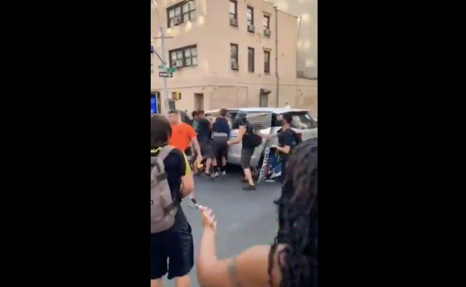 'It Was Like a Kidnapping.' Distressing Video Shows NYPD Tackling Teen Protester, Forcing Her Into Unmarked Van