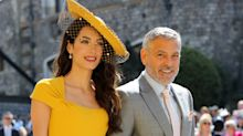 'An absolute vision!': Twitter explodes at stunning royal wedding celeb guests including Amal Clooney and the Beckhams